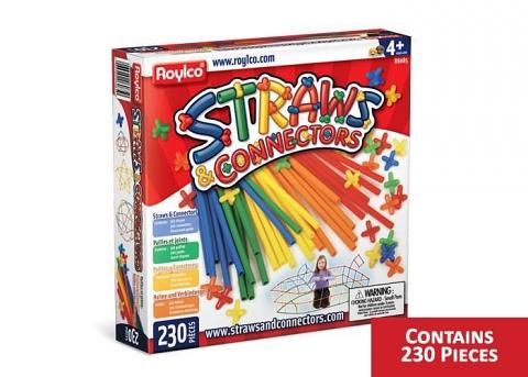 Straws and Connectors Set 230pcs