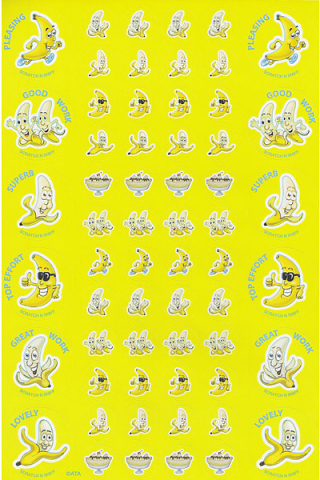 Scratch n' Sniff Stickers Banana