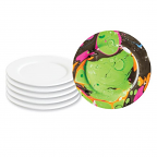 Small Ceramic Plates 6 pack