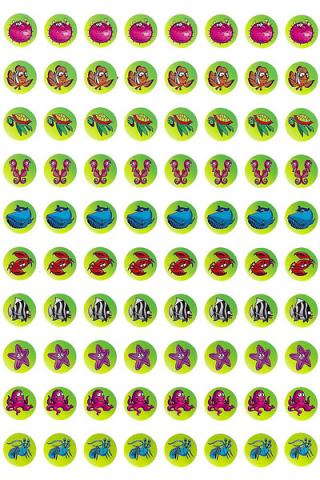 Marine Dot Stickers 800 pack (DD408)