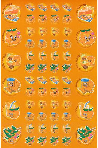 Scratch 'n' Sniff Stickers Mandarin (SS1006)