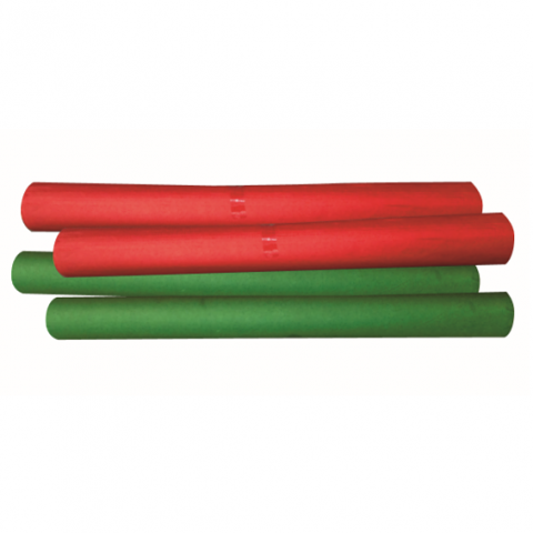 Red and Green Tissue Sheets