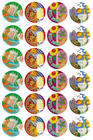 Science Stickers 96 pack (MS076)