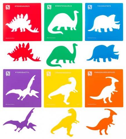 Stencils Dinosaur