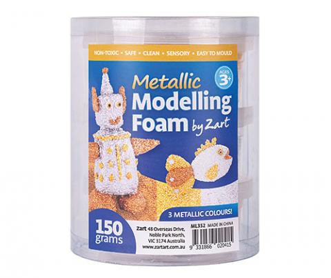 Modelling Foam 150g (3 x 50g) Metallic
