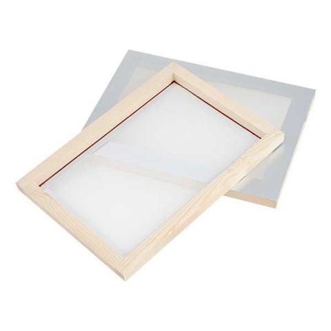 Silk Screen A4 Wooden frame 43T - Derivan