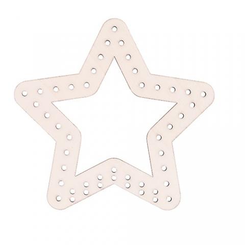 Wooden Weaving Star 10pack
