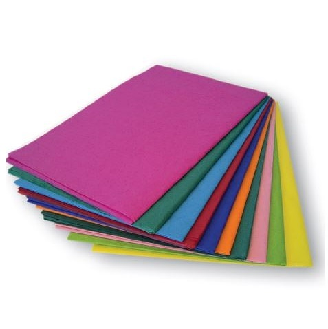 Tissue Paper Assorted colours 100pack