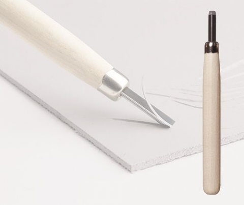 "Lino ""V"" Shape Carving Tool"