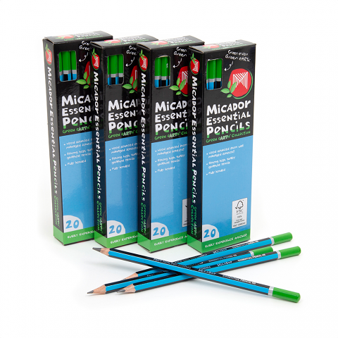 Micador Essential Pencils 2B box of 20