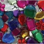 Rhinestones Large 100grams
