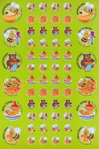 Scratch 'n' Sniff Stickers Honey (SS1007)