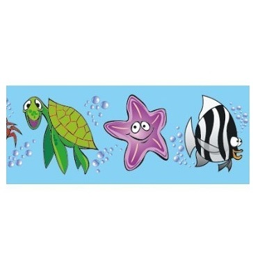 Sea Creatures Border