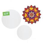 Canvas Board Circles
