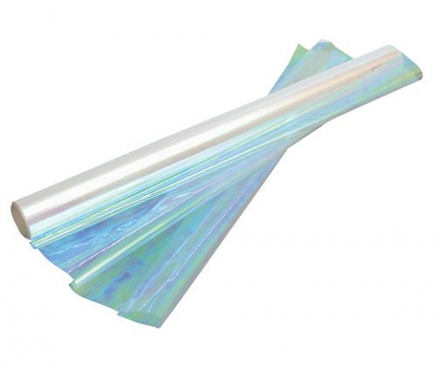 Cellophane 50cm x 10m Iridescent