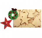Wooden Christmas Cutouts