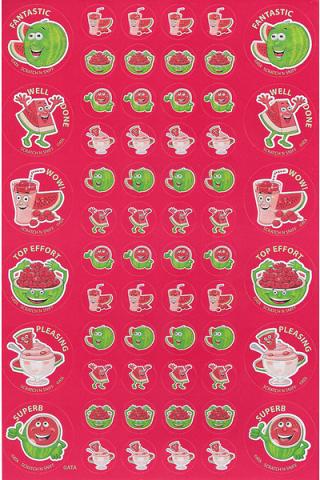 Scratch n' Sniff  Stickers Watermelon