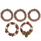 Natural Wreath 10pack
