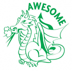 Stamper ST1255 Awesome Dragon