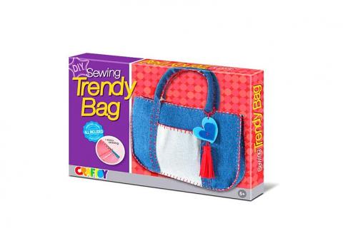 Sewing Bag - Trendy Denim DIY