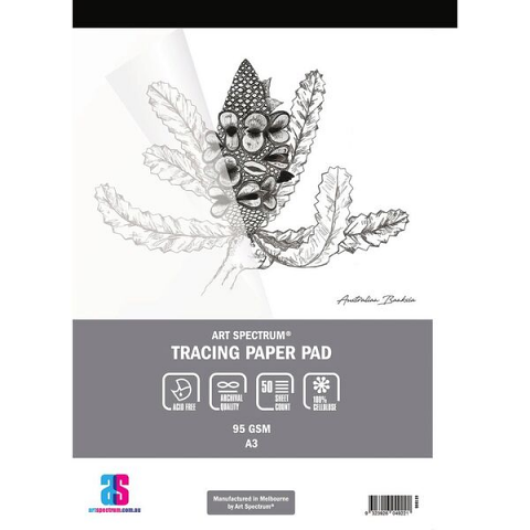 Art Spectrum A3 Tracing Pad 95gsm 50 Sheets