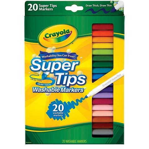Crayola Super Tip Markers 20pack