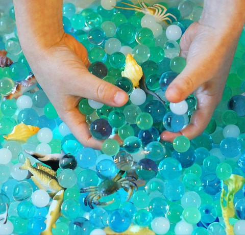 Sensory Water Beads Sea Theme 10g