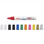Uni Paint Markers Medium box of 12