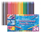 Woodless Watercolour Pencils 24's