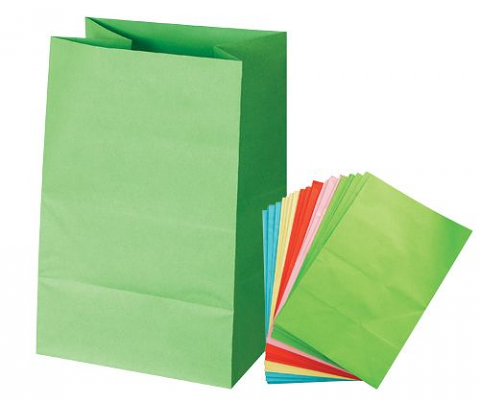 Coloured Paper Bags 30 pack