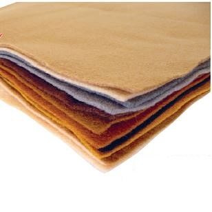 Felt Square Natural Colours 12pk