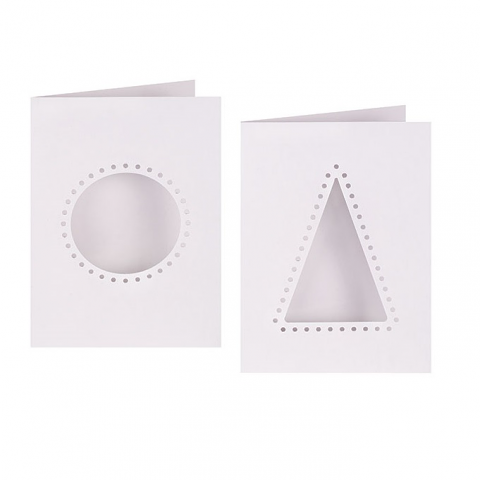 Christmas Cut-out Threading Card 10's