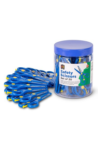 Safety Scissors - Tub of 20