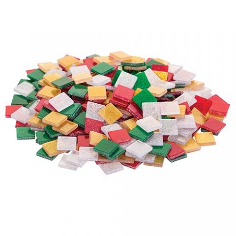 Mosaic Tiles Christmas Glitter 150g