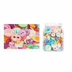 Buttons Pastel Colours 600g