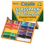 Crayola Triangular Pencil Class Pack