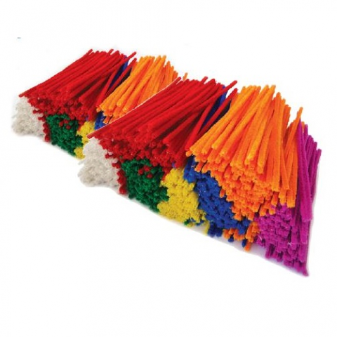 Multi Coloured Pipe Cleaners 15cm