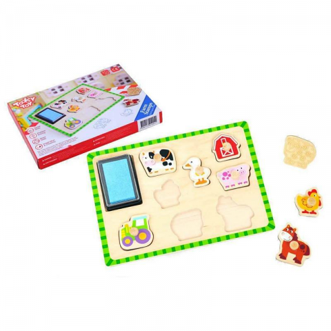 Kid's Farm Stamp Puzzle