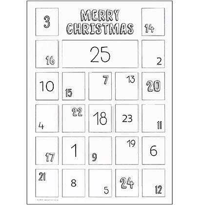 ColourMe Advent Calendar A3 10pack