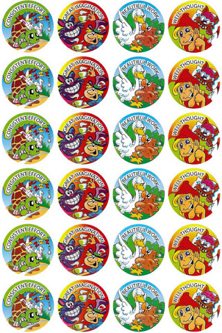Fairy Tales Stickers 96 pack (MS024)