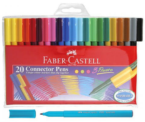 Faber Castell Connector Pens 20pack