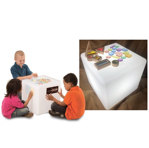 Educational Light Cube (New Extra Bright)
