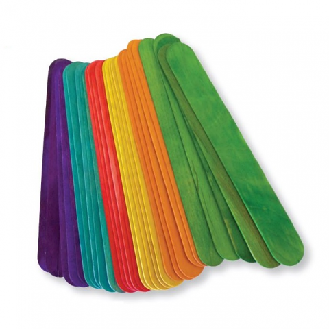 Jumbo Popsticks Coloured