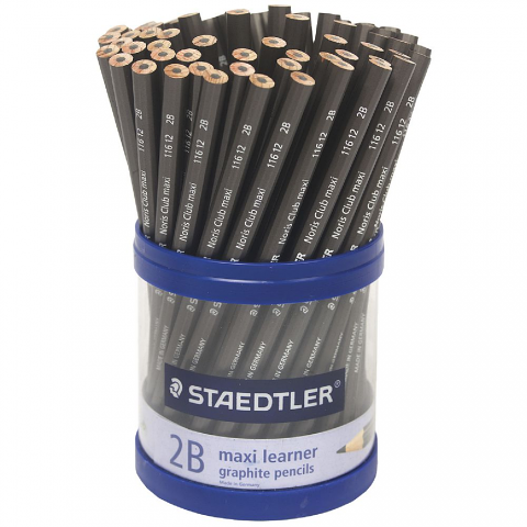 Steadtler Noris Maxi Pencils 2B - Tub of 70
