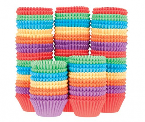 Patty Pans Assorted 1000pack (Bright Colours)