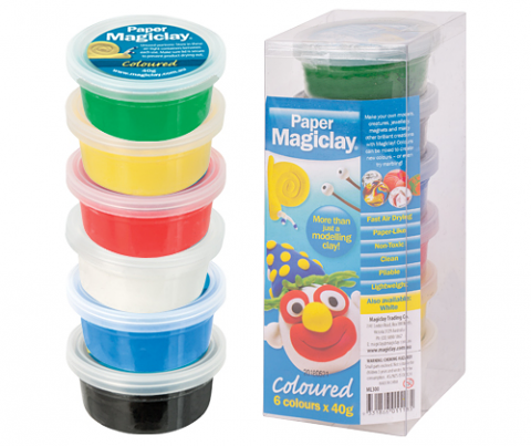 Paper Magiclay Coloured 240g