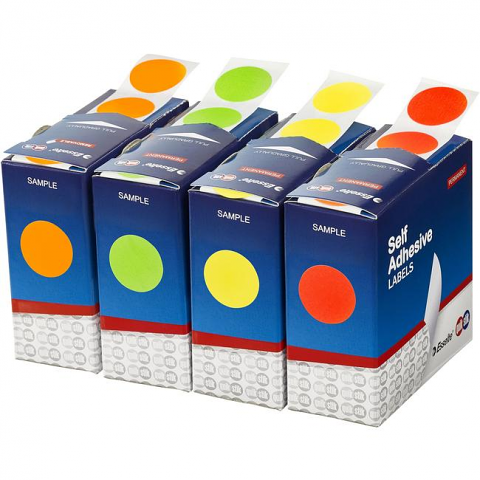 Label Dots Stickers 25mm