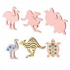 Terracotta Australian Animals 6 pack (3designs)