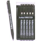 Artline 230 Drawing System 6 assorted nibs