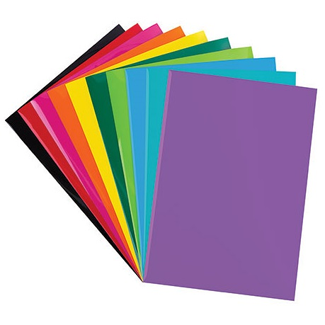 Iron on Sheets A4 10pack assorted